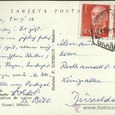 Sellos: GRANADA TP CON MATASELLOS HEXAGONAL CORREO AEREO 1956. Lote 32878792