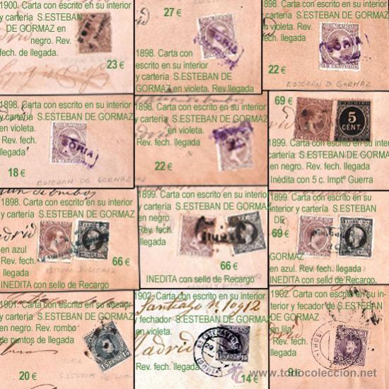 Sellos: PLANCHA IV.- Lote con 12 piezas. Precio 234 € - Foto 2 - 32959496