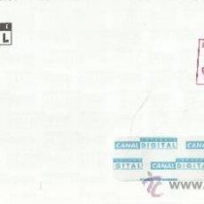 Sellos: CC FRANQUEO PAGAD0 CANAL SATELITE DIGITAL TELEVISION TELECOMUNICACIONES. Lote 207116168