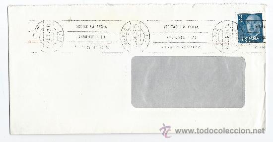 2 SOBRES CIRCULADOS-FERIA INTERNACIONAL DE BARCELONA-MATASELLOS DE RODILLO (Sellos - Historia Postal - Sello Español - Sobres Circulados)