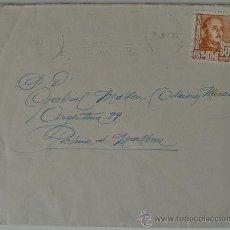 Sellos: SOBRE CIRCULADO BARCELONA-MALLORCA (1951) CON REMITE DEL PINTOR-MUSICO J. GUARDIOLA TORREGROSA . Lote 35936242