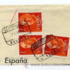 Sellos: FRAG. MATASELLOS 1962 - ARACENA / HUELVA. Lote 35970341