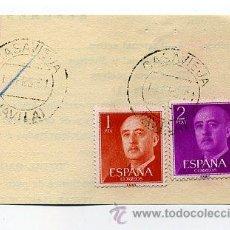 Sellos: FRAG. MATASELLOS 1961 - CASAVIEJA / AVILA. Lote 35970906