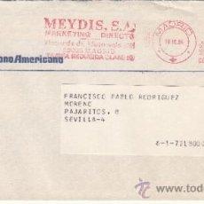 Sellos: FRANQUEO MECANICO 1692 MADRID, COLABORADORA, BANCO HISPANO AMERICANO, . Lote 37852455