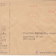 Sellos: FRANQUEO MECANICO 1090 SALAMANCA, LIBRERIA CERVANTES, . Lote 37852625