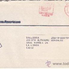 Sellos: FRANQUEO MECANICO 1927 MADRID, COLABORADORA, BANCO HISPANO AMERICANO, . Lote 37852981