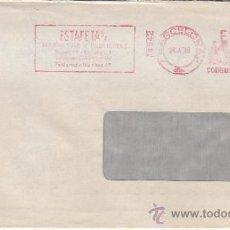 Sellos: FRANQUEO MECANICO 14942 BARCELONA, COLABORADORA, KLAUS LASER DIRECTOR GENERAL EDITORIAL WEKA. Lote 37853820