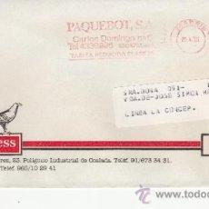 Sellos: FRANQUEO MECANICO 14774 MADRID, COLABORADORA, UNITRANSA, UNIEXPRESS . Lote 37853910