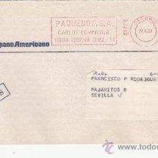 Sellos: FRANQUEO MECANICO 14774 MADRID, COLABORADORA, BANCO HISPANO AMERICANO, . Lote 37853913