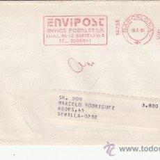 Sellos: FRANQUEO MECANICO 14755 BARCELONA, COLABORADORA, ARIEL/SEIX BARRAL EDITORIALES. Lote 37853941