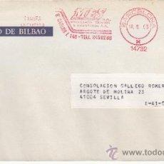 Sellos: FRANQUEO MECANICO 14732 BARCELONA, COLABORADORA, BANCO DE BILBAO, . Lote 37854225