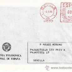 Sellos: FRANQUEO MECANICO 14577 SEVILLA, C.T.N.E., . Lote 37854301