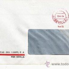 Sellos: FRANQUEO MECANICO 14475 SEVILLA, COLABORADORA, CREDITO INTERNACIONAL DEL LIBRO S.A. . Lote 37854342