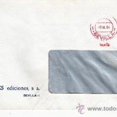 Sellos: FRANQUEO MECANICO 14475 SEVILLA, COLABORADORA, INTERBOOKS EDICIONES S.A. . Lote 37854348