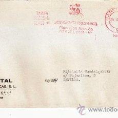 Sellos: FRANQUEO MECANICO 14421 BARCELONA, COLABORADORA, CONTINENTAL SUBASTAS FILATELICAS . Lote 37860539