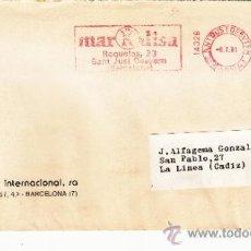 Sellos: FRANQUEO MECANICO 14328 SANT JUST DESVERN (BARCELONA), COLABORADORA, AUDITRON LINGUA INTERNACIONAL S. Lote 37860577