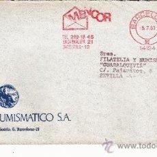 Sellos: FRANQUEO MECANICO 14124 BARCELONA, COLABORADORA, INSTITUTO NUMISMATICO S.A. . Lote 37860650