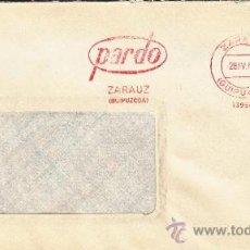 Sellos: FRANQUEO MECANICO 13954 ZARAUZ (GUIPUZCOA), PARDO, . Lote 37871508