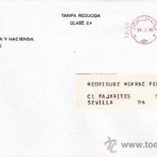 Sellos: FRANQUEO MECANICO 13863 MADRID, MINISTERIO DE ECONOMIA Y HACIENDA, . Lote 37871663