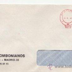 Sellos: FRANQUEO MECANICO 11777 MADRID, COLABORADORA, MISIONEROS COMBONIANOS . Lote 37912189