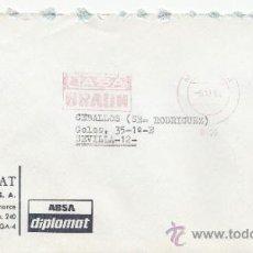 Sellos: FRANQUEO MECANICO 10480 MALAGA, CIASA BRAUN, . Lote 37969258