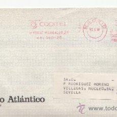 Sellos: FRANQUEO MECANICO 9611 MADRID, COLABORADORA, BANCO ATLANTICO,. Lote 37969689