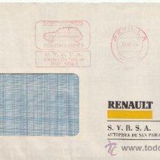 Sellos: FRANQUEO MECANICO 9411 MODIFICADO SEVILLA, SUPER CINCO, MAS CINCO QUE EL 5, AUTOMOVIL. Lote 37969898