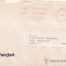 Sellos: FRANQUEO MECANICO 8896 SANT JUST DESVERN (BARCELONA), COLABORADORA, ADRESS TARJET. Lote 37978434