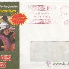 Sellos: FRANQUEO MECANICO 8882 MADRID, COLABORADORA, CLUB INTERNACIONAL DEL LIBRO, . Lote 37978490