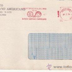 Sellos: FRANQUEO MECANICO 8940 MADRID, AÑO INTERNACIONAL DEL NIÑO 1979, BANCO HISPANO AMERICANO . Lote 37978632