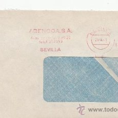Sellos: FRANQUEO MECANICO 8757 SEVILLA, ABENGOA, S.A.. Lote 37978696