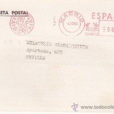 Sellos: FRANQUEO MECANICO 7011 MODIFICADO MADRID, JUAN R. CAYON, MONEDAS Y MEDALLAS,. Lote 37984283