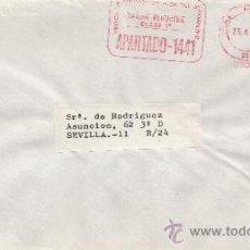 Sellos: FRANQUEO MECANICO 6308 BARCELONA, COLABORADORA, PAPILLAS RIERA MARSA. Lote 37984499