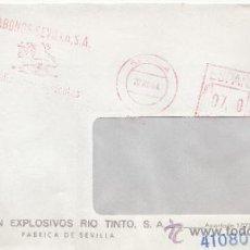 Sellos: FRANQUEO MECANICO 5604 SEVILLA, ABONOS SEVILLA, S.A., FERLILIZANTES AGRICOLAS,. Lote 37984716