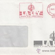Sellos: FRANQUEO MECANICO 18289 MADRID, DISTRIBUCIONES DE LA LEY, . Lote 38010984