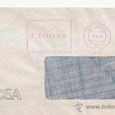Sellos: FRANQUEO MECANICO 17149 MADRID, CEDOSA, . Lote 38023750