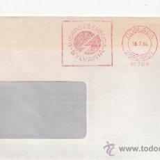Sellos: FRANQUEO MECANICO 16769 COSLADA (MADRID), AHORRO DE ENERGIA, SYLVANIA, . Lote 38026644