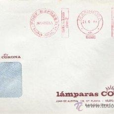 Sellos: FRANQUEO MECANICO 16088 MANRESA (BARCELONA), COLABORADORA, LAMPARAS CORONA, . Lote 38026961