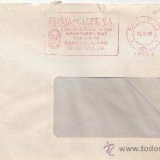 Sellos: FRANQUEO MECANICO 15253 MADRID, ESPASA - CALPE, S.A., CASA DEL LIBRO, . Lote 38027387