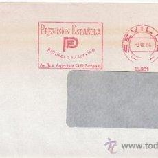Sellos: FRANQUEO MECANICO 15031 SEVILLA, PREVISION ESPAÑOLA -PE- 100 AÑOS A SU SERVICIO, . Lote 38027546