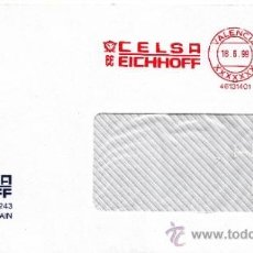 Sellos: FRANQUEO MECANICO ,46131401 VALENCIA, CELSA EICHHOFF, . Lote 38177413