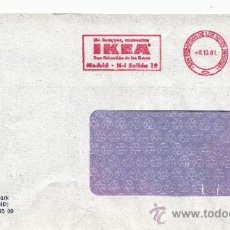 Sellos: FRANQUEO MECANICO ,28229301 SAN SEBASTIAN DE LOS REYES (MADRID), IKEA, . Lote 38187376