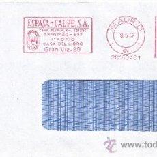 Sellos: FRANQUEO MECANICO ,28160401 MADRID, ESPASA - CALPE, S.A.. Lote 38187557