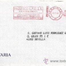 Sellos: FRANQUEO MECANICO ,28045602 MADRID, COLABORADORA, ARGENTARIA. Lote 38212230