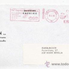 Sellos: FRANQUEO MECANICO ,28040802 MADRID, COLABORADORA, JEAN ELSEN, . Lote 38212301