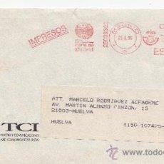 Sellos: FRANQUEO MECANICO ,28038302 MADRID, IMPRESOS, IFEMA, FERIA DE MADRID, . Lote 38212320