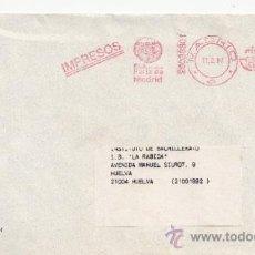 Sellos: FRANQUEO MECANICO ,28038301 MADRID, IMPRESOS, IFEMA, FERIA DE MADRID, . Lote 38212327