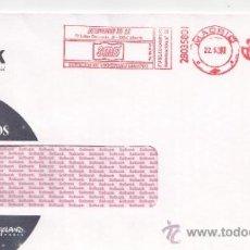 Sellos: FRANQUEO MECANICO ,28035801 MADRID, COLABORADORA, SOLBANK . Lote 38212373
