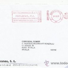 Sellos: FRANQUEO MECANICO ,28022510 MADRID, COLABORADORA, GUIJARRO HERMANOS, S.L.. Lote 38212430