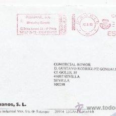 Sellos: FRANQUEO MECANICO ,28022501 MADRID, COLABORADORA, GUIJARRO HERMANOS, S.L.. Lote 38212471